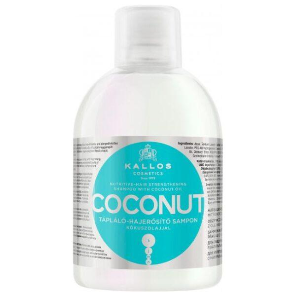 Шампунь Kallos Cosmetics KJMN Кокос 1 л (предотвращает выпадение волос)