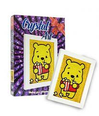 "Набор для творчества ""Crystal art: Винни Пух"""