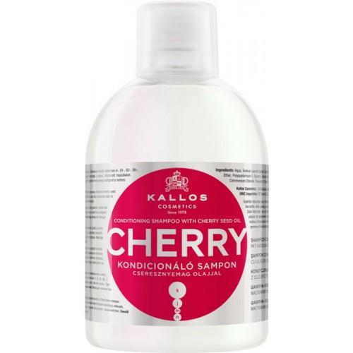 Шампунь Kallos Cherry 1л (восстановление сухих и ломких волос)