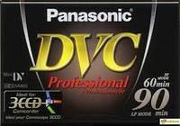 Кассеты miniDV AY-DVM60YE Panasonic Professional