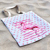 """Еко сумка для покупок """"Фламінго"""", фото 1"""
