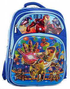 Шкільний рюкзак для хлопчика з 3D малюнком і щільною спинкою BR-S 1209657862