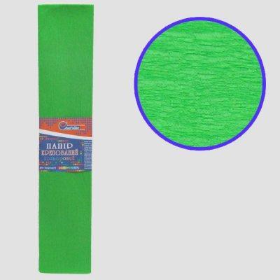 Гофрированная бумага Josef Otten KR55-8035 50*200 см 20 г/м2 зеленая светлая