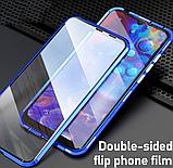 Магнітний метал чохол FULL GLASS 360° для REALME 5 Pro / OPPO REALME Q /, фото 2
