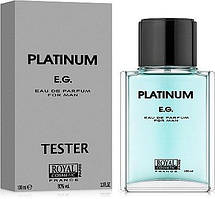 Туалетная вода Royal Cosmetic Platinum E.G. 100ml М TESTER