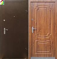 Двері вхідні Бастіон-БЦ Порошок-Еліт Б-7 ПВХ-90, двері для квартири, офісу, двері броньовані