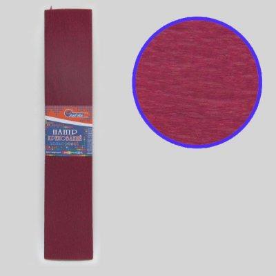 Гофрированная бумага Josef Otten KR55-8002 50*200 см 20 г/м2 бордовая