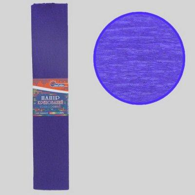 Гофрированная бумага Josef Otten KR55-8025 50*200 см 20 г/м2 фиолетовая темная