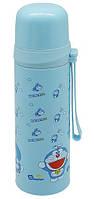 Термос детский с ремешком MY0080 500 мл, голубой