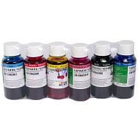 Чернила ColorWay Epson SP R270/290 RX500 TX650 (6х100мл) BK/С/M/LС/LM/Y (CW-EW650SET01)