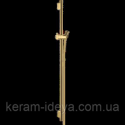 Душевая штанга Hansgrohe 28631990 Unica S Puro 90 золото, фото 2
