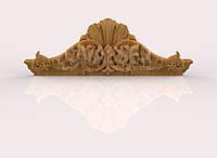 Корона для шкафа, двери 1120х392х100, ясень