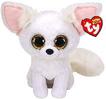М'яка іграшка Біла лисиця Fennec TY