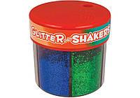 """Блискітки """"Metallic Glitter Shaker"""" 50г, 6 кольорів асорті №XD5001(6)"""