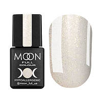 Гель-лак Moon Full Opal № 501 (полупрозрачный с золотым шиммером), 8 мл