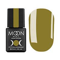 Гель-лак Moon Full Glass Effect № 01 (желтый, эмаль), 8 мл
