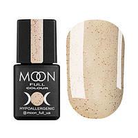 Гель-лак Moon Full Opal № 503 (бежевый полупрозрачный с мелким розовым шиммером), 8 мл