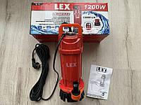 Погружной насос для грязной воды Lex LXQDX12 / 1200Вт