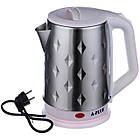 Електрочайник дисковий нержавійка A-PLUS 2.0 л чайник електричний, фото 4