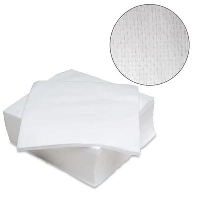 Серветки в пачці 20х20 см (100 шт/пач) зі спанлейсу 40 г/м2 Текстура:сітка