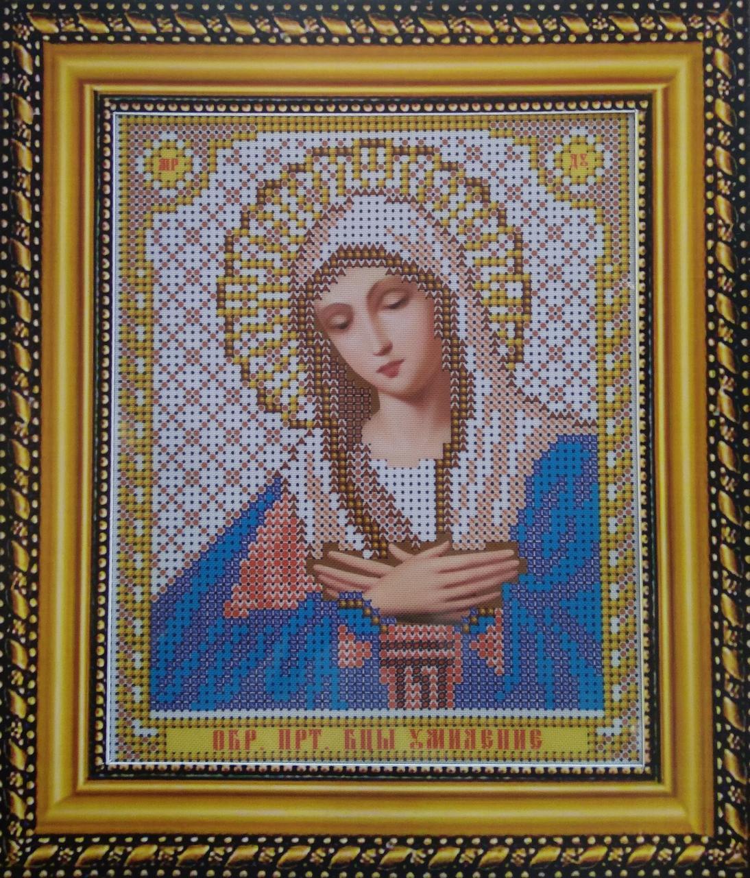 Набор для вышивки бисером ArtWork икона Божия Матерь Умиление VIA 5007