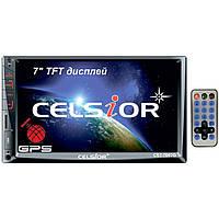 Магнитофон Celsior CST-7007G 2-DIN MP-5 c GPS