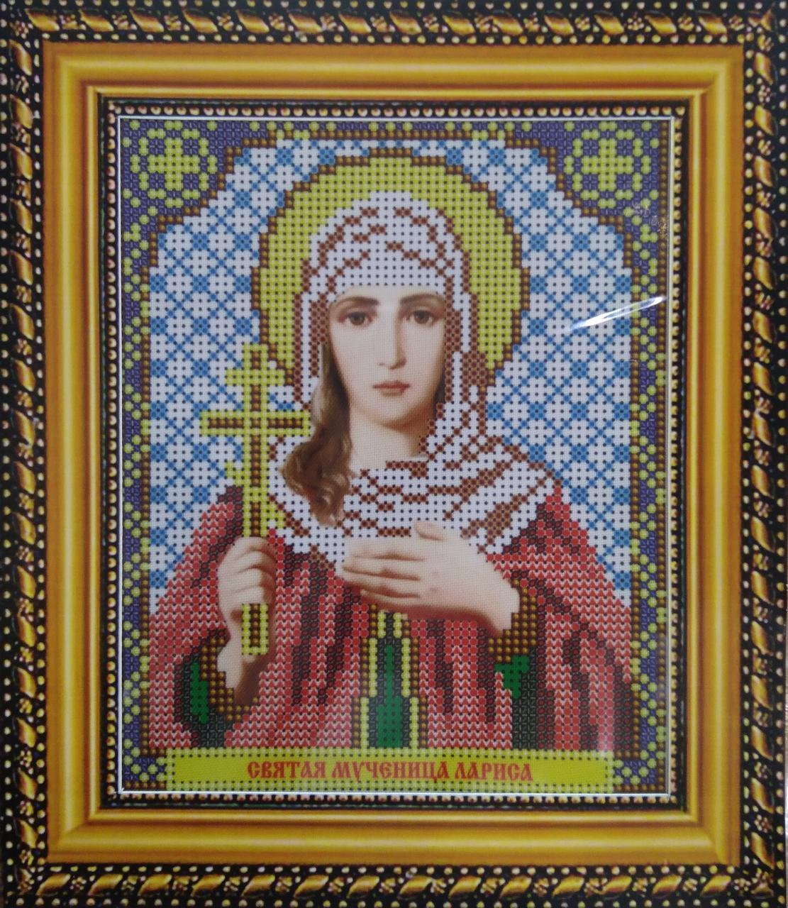 Набор для вышивки бисером ArtWork икона Святая Мученица Лариса VIA 5028