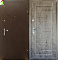 Дверь входная Бастион-БЦ Порошок-Элит Б-288 ПВХ-01, дверь для квартиры, офиса, дверь бронированная