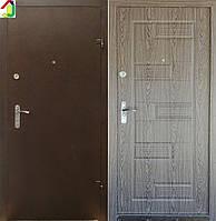 Двері вхідні Бастіон-БЦ Порошок-Еліт Б-288 ПВХ-01, двері для квартири, офісу, двері броньовані