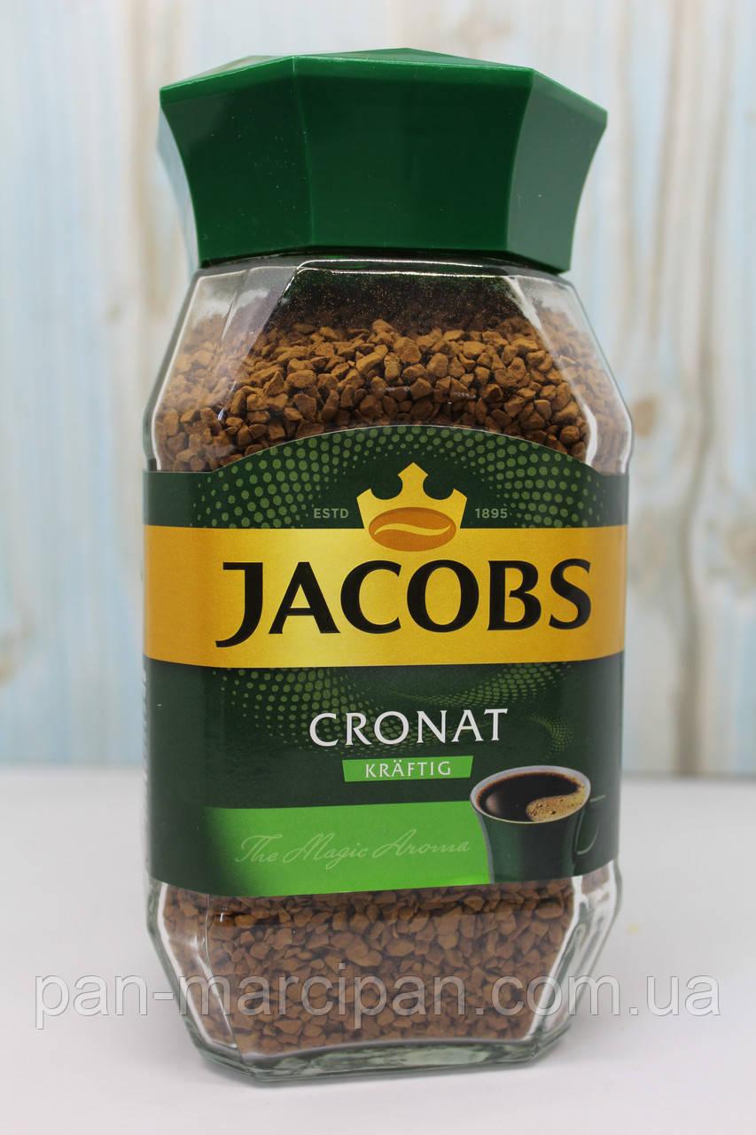 Кава розчинна Jacobs Cronat Kraftig 200 г