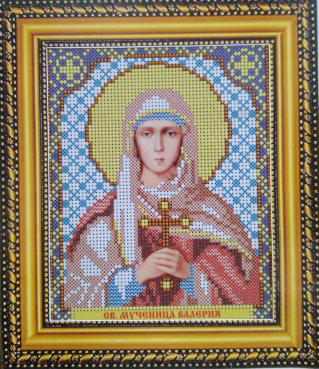 Набір для вишивання бісером ікона Свята Мучениця Валерия VIA 5049