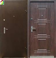 Двері вхідні Бастіон-БЦ Порошок-Еліт Б-262 ПВХ-80, двері для квартири, офісу, двері броньовані