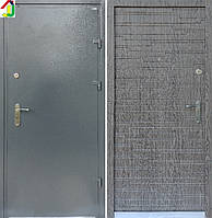 Двері вхідні Бастіон-БЦ Порошок-Еліт Ескада-8 ПВХ-01, двері для квартири, офісу, двері броньовані