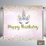 Мікімаус дівчинка Банер 2х2, на ювілей, день народження. Друк банера  Фотозона Замовити банер Мікі Маус, фото 8