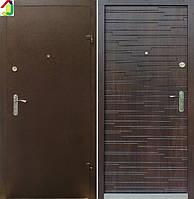 Двері вхідні Бастіон-БЦ Порошок-Еліт Ескада-8 ПВХ-80, двері для квартири, офісу, двері броньовані