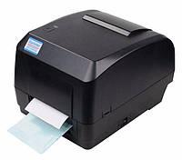 Термотрансферный принтер, термопринтер этикеток, бирок XP-H500B 112мм