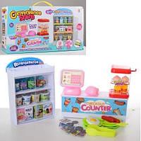Магазин   касса, продукты, шкаф-витрина, 17-21-7см, в кор-ке, 43,5-23-10см