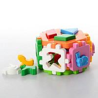 """Іграшка куб """"Розумний малюк Гексагон 1 ТехноК"""""""