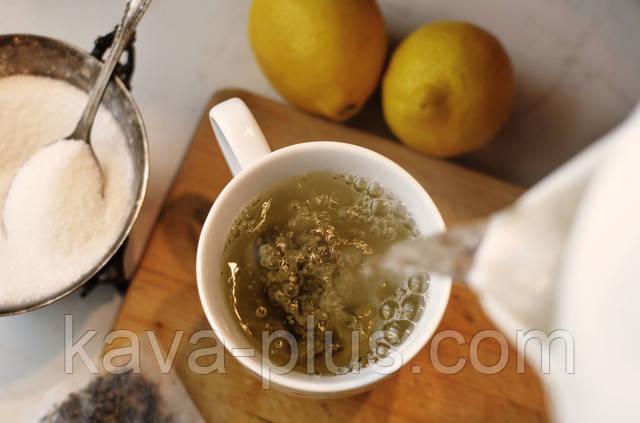 Чай с лимоном как пить