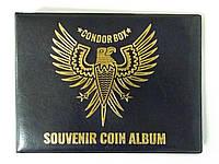 """Альбом для монет """"CONDOR BOX"""" на 180 монет"""