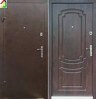 Двері вхідні Бастіон-БЦ Порошок-Економ Б-7 ПВХ-80, двері для квартири, офісу, двері броньовані