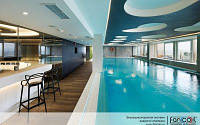 Внутрипольный конвектор с дренажем для бассейнов