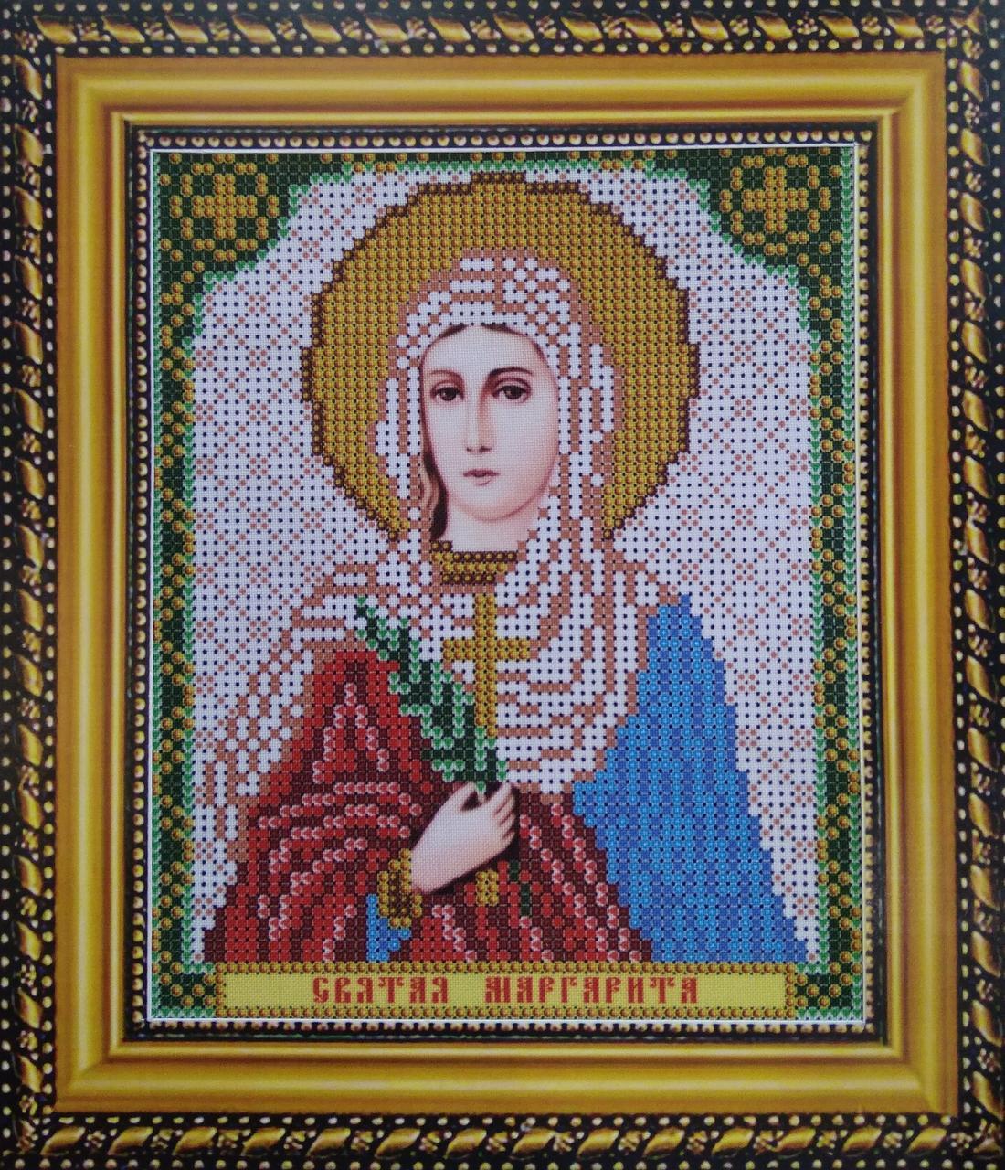 Набор для вышивки бисером ArtWork икона Святая Маргарита VIA 5097