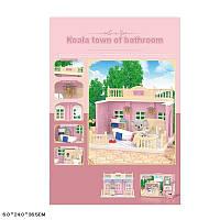 Животные флоксовые  ванная комната, фигурка в комплекте, в короб.36,5*24*6см