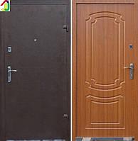 Двері вхідні Бастіон-БЦ Порошок-Економ Б-7 ПВХ-90, двері для квартири, офісу, двері броньовані