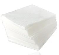 Серветки спанлейс гладкі 20см*20см (100шт. в уп. нарізані)
