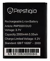 Аккумулятор к телефону Prestigio PAP5500 2000mAh, фото 1