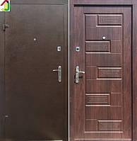 Двері вхідні Бастіон-БЦ Порошок-Економ Б-288 ПВХ-80, двері для квартири, офісу, двері броньовані
