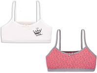 Детский комплект белья для девочки KTD-20-11 (2 топа)