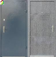 Двері вхідні Бастіон-БЦ Порошок-Економ Ескада ПВХ-01, двері для квартири, офісу, двері броньовані